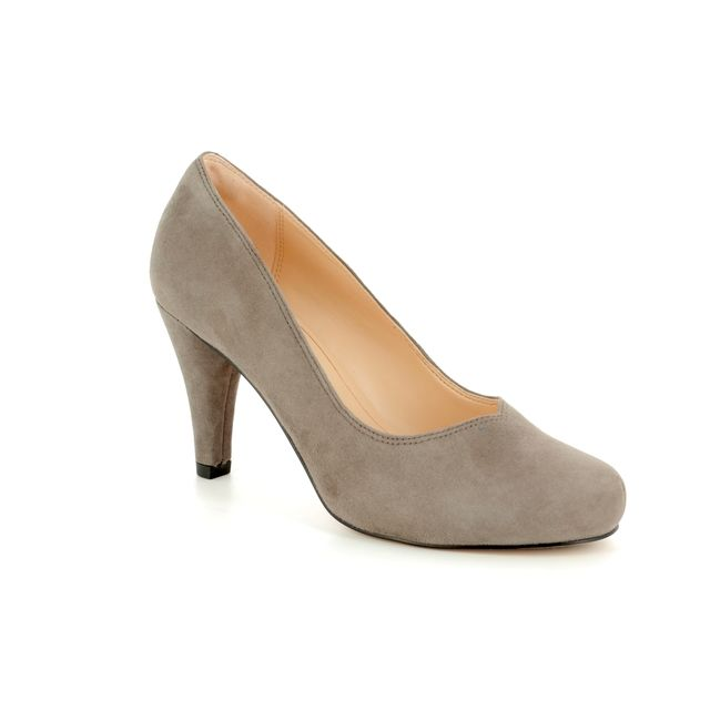 Clarks High-heeled Shoes - Taupe - 3226/94D DALIA ROSE