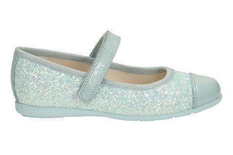 Clarks Dance Idol Pre F Fit Pale blue everyday shoes