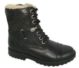 Clarks Diggy Matt G Fit Black boots