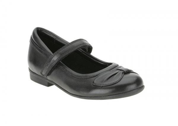 Clarks Everyday Shoes - Black - 4287/56F DOLLYGLITZ INF