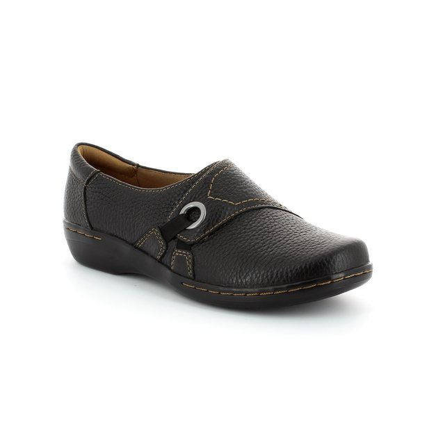Clarks Evianna Boa D Fit Black comfort shoes
