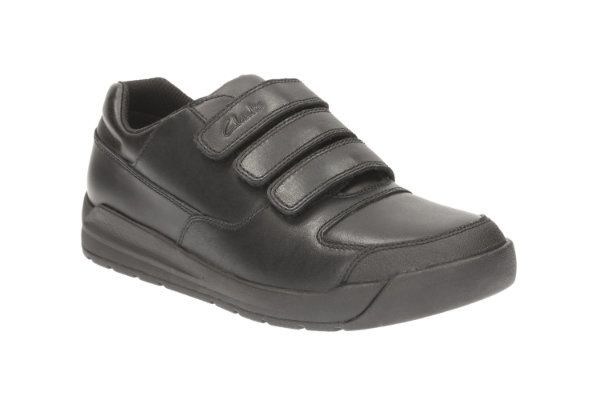 Clarks School Shoes - Black - 1893/05E FLARE LITE JNR
