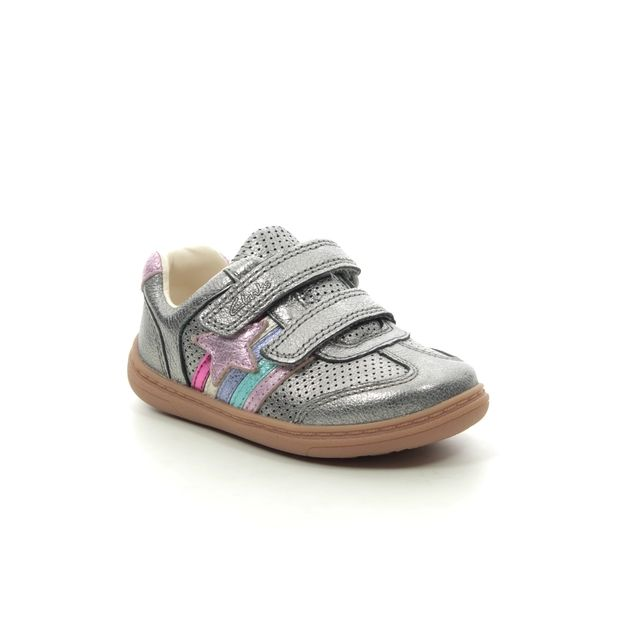 Clarks First Shoes - Pewter - 526586F FLASH HEAT T