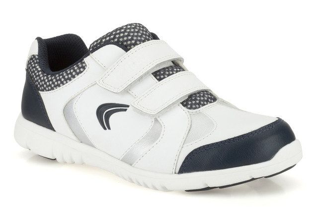 Clarks Free Club Inf F Fit White multi trainers