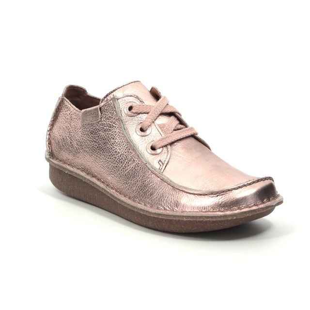 Clarks Lacing Shoes - Pink - 414344D FUNNY DREAM
