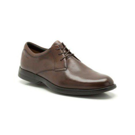 Clarks General Walk5 G Fit Brown formal shoes