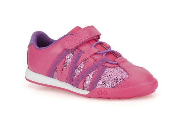 Clarks Giggle Sun Inf E Fit Pink trainers