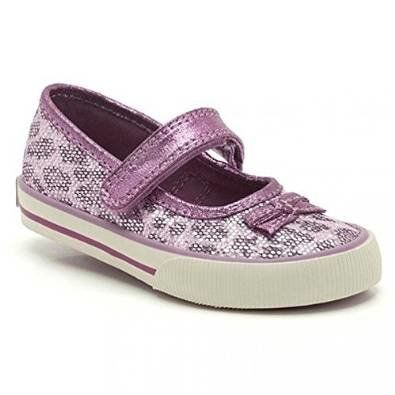 Clarks Glam Gem Fst F Fit Purple trainers