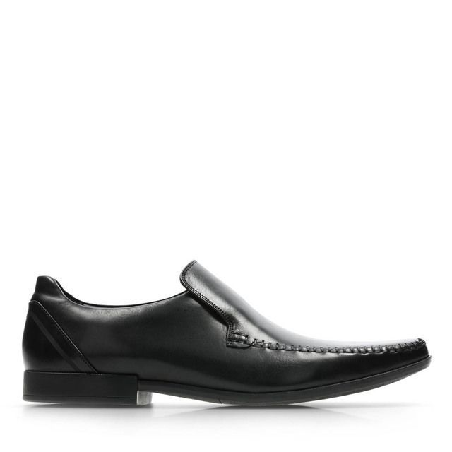 Clarks Formal Shoes - Black leather - 3542/87G GLEMENT SEAM
