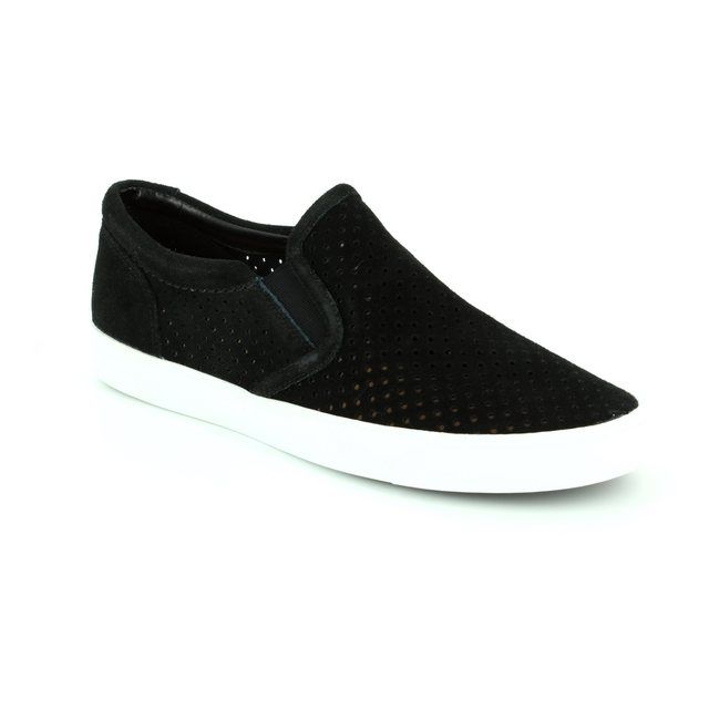 Clarks Trainers - Black suede or snake - 0912/14D GLOVE PUPPET