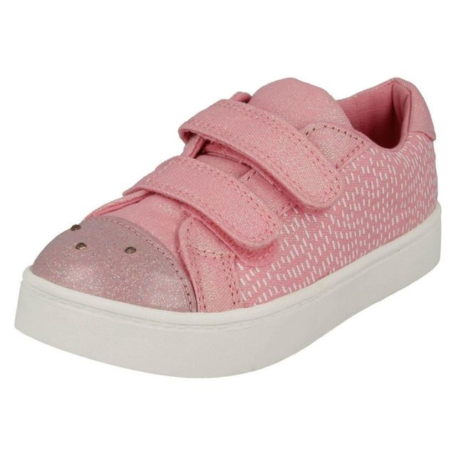 8038ae66171ab6 Clarks Comic Cool F Fit Pink trainers