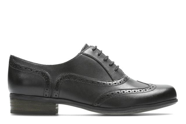 Clarks Brogues - Black - 4671/34D HAMBLE OAK
