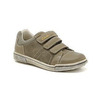 Clarks Harklin Lo G Fit Khaki everyday shoes