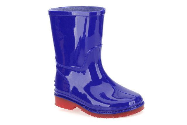 Clarks Harrison Inf G Fit Blue wellies