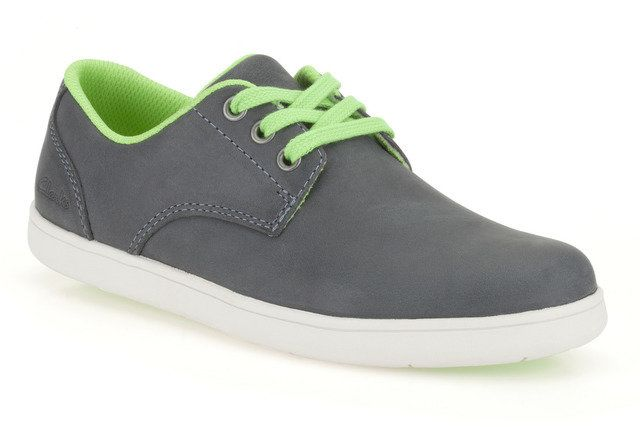 Clarks Holbay Fun F Fit Denim blue everyday shoes