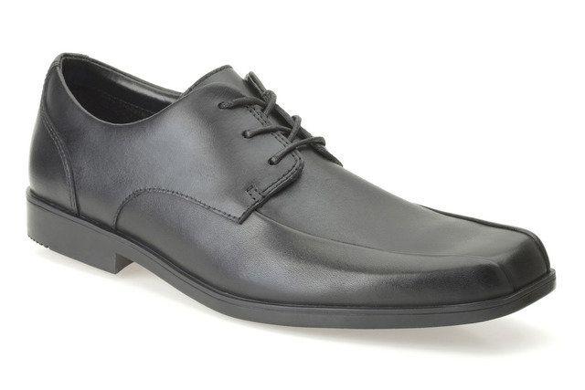 Clarks School Shoes - Black - 0079/36F HOXTON CHAP BL