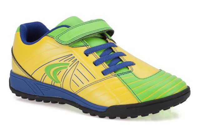 Clarks In Play Jnr F Fit Yellow trainers