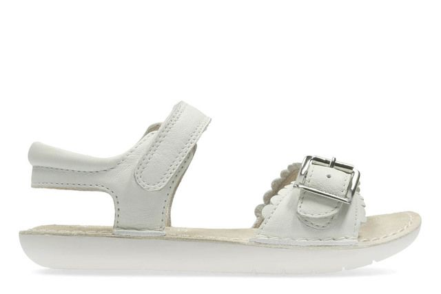 Clarks Sandals - White - 2368/76F IVY BLOSSOM IN