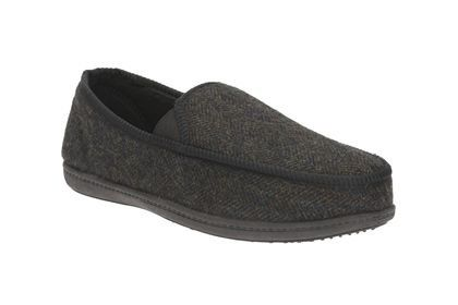 Clarks King Donard G Fit Dark grey multi slippers