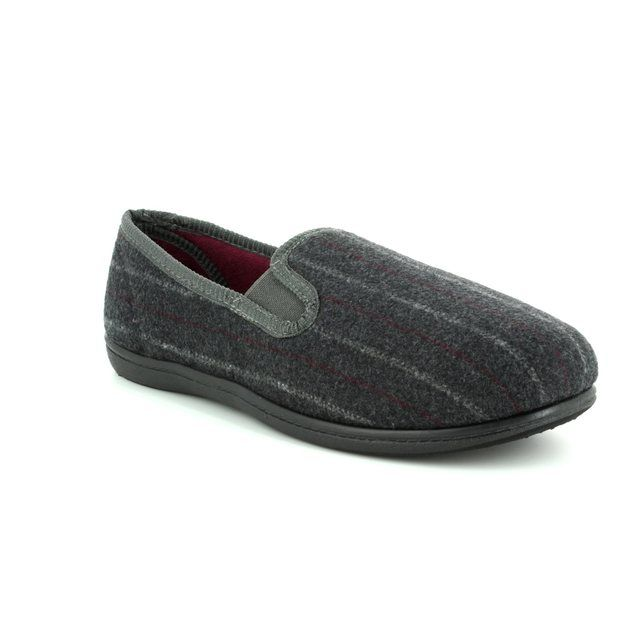 Clarks Slippers - Grey - 3122/67G KING TWIN