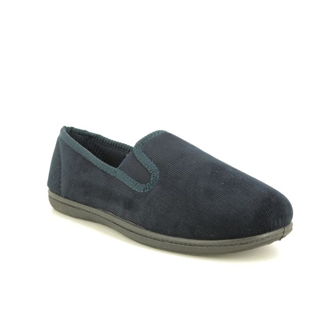 Clarks Slippers - Navy - 427787G KING TWIN