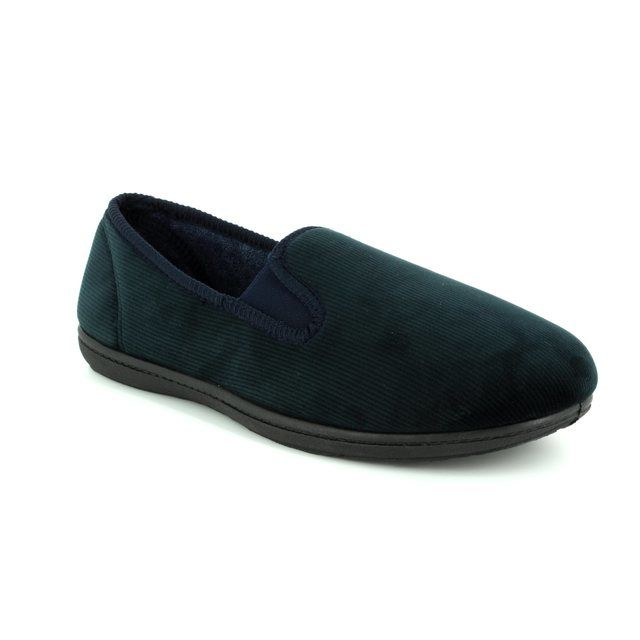 Clarks Slippers - Navy - 0979/47G KING TWIN