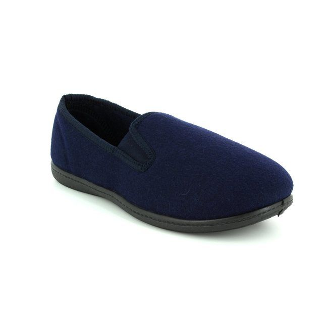 Clarks Slippers - Navy - 3070/47G KING TWIN