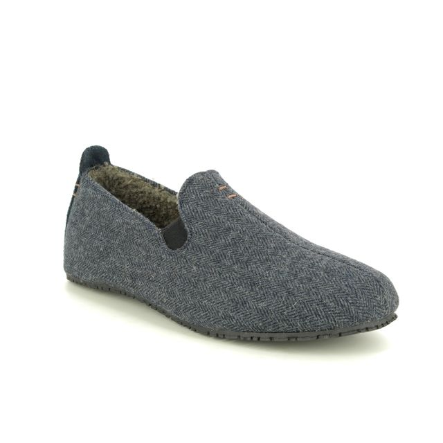 Clarks Slippers - Navy - 427807G KITE FALCON