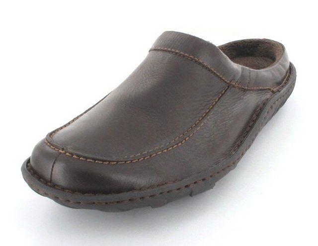 Clarks Kite Vasa G Fit Brown mules