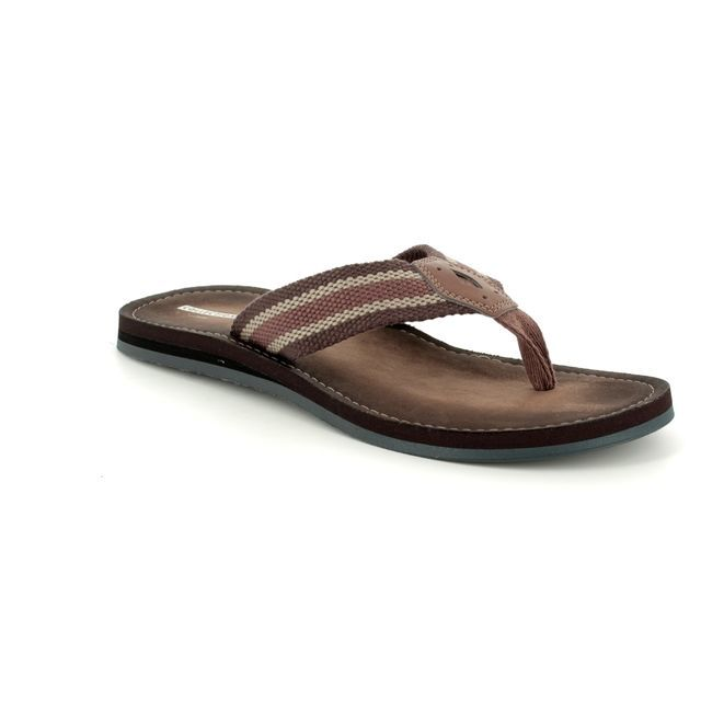 Clarks Lacono Sun G Fit Brown sandals
