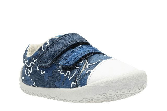 Clarks First Shoes - Navy multi - 2411/57G LITTLE CHAP