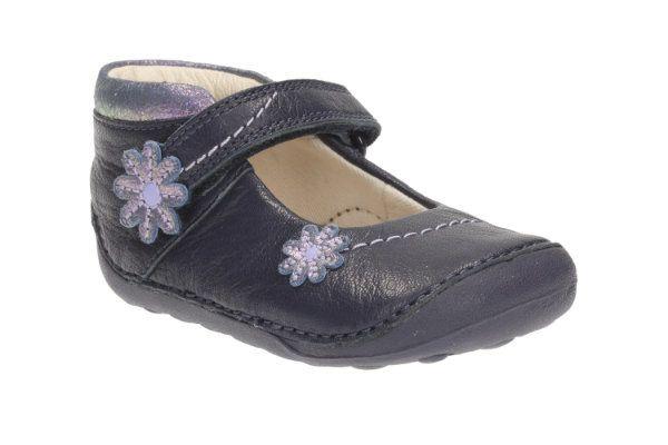 Clarks First Shoes - Navy - 2039/87G LITTLE FIZZI