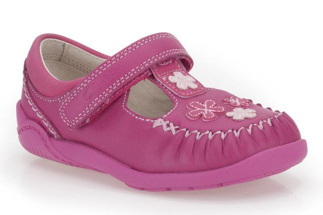 Clarks Litzy Lou Fst G Fit Pink first shoes