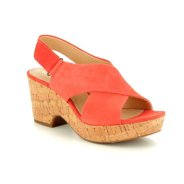 14e4668a70711c Clarks - Maritsa Lara 261421594d - D Fit (orange)