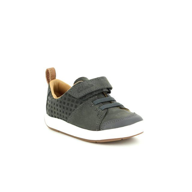 Clarks First Shoes - Grey - 2347/46F MAXI TAKE FST