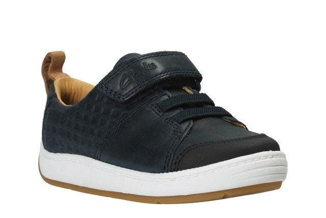 Clarks Maxi Take Fst G Fit Navy first shoes