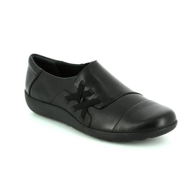 Clarks Medora Sandy D Fit Black comfort shoes