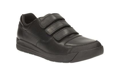 Clarks School Shoes - Black - 1894/26F MONTE LITE BL