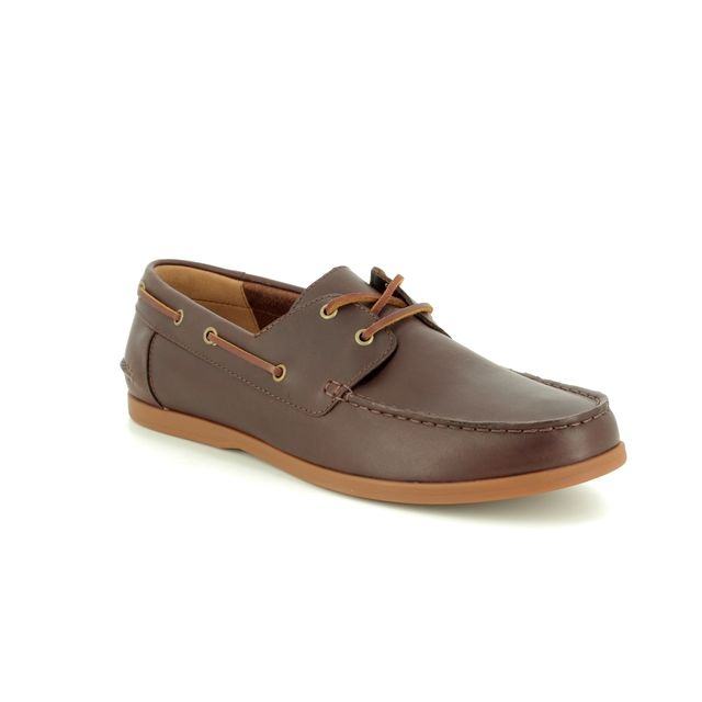 Clarks Loafers - Tan Leather - 324807G MORVEN SAIL