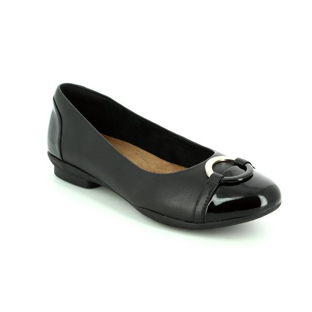 Clarks Pumps - Black - 2886/24D NEENAH VINE