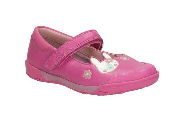 Clarks Nibbles Nice I F Fit Pink everyday shoes
