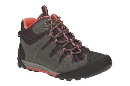 Clarks Outlay North D Fit Grey muti walking boots