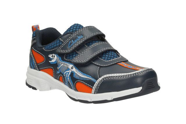 Clarks Pass Stomp Inf H Fit Navy trainers
