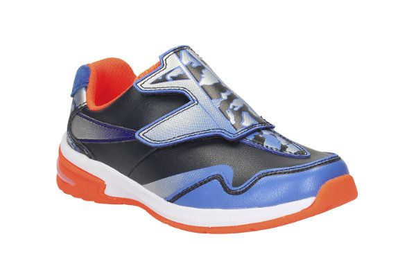 Clarks Piper Buzz Inf F Fit Navy multi trainers
