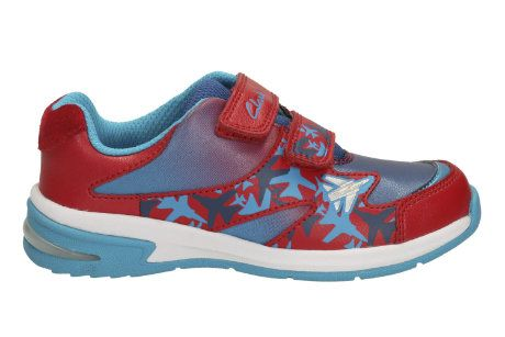 Clarks Piper Fun Inf F Fit Red multi trainers
