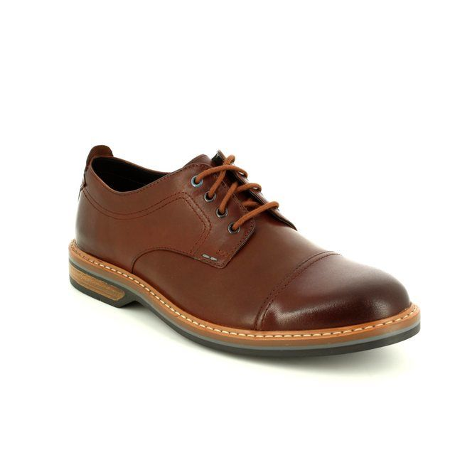 Clarks Formal Shoes - Tan - 2738/67G PITNEY CAP