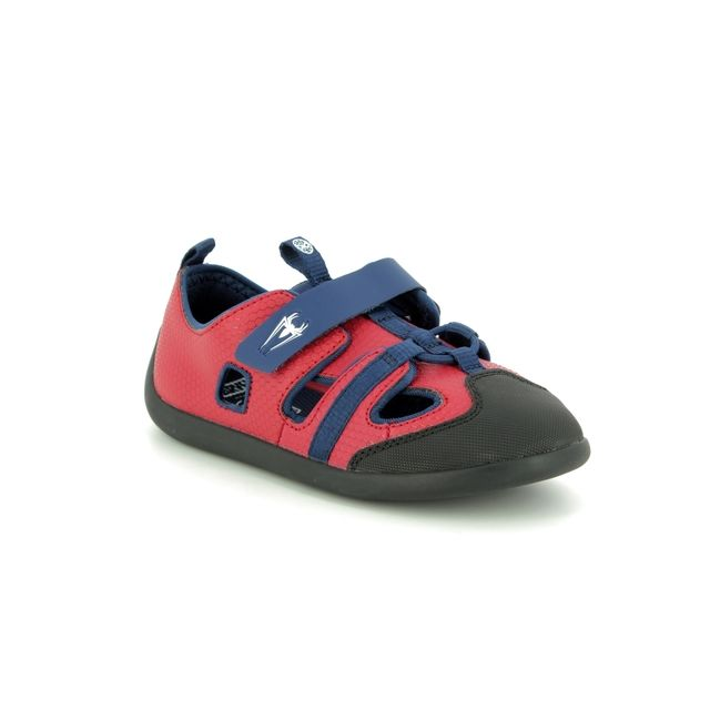Clarks Sandals - Red multi - 422747G PLAY SPIDER T