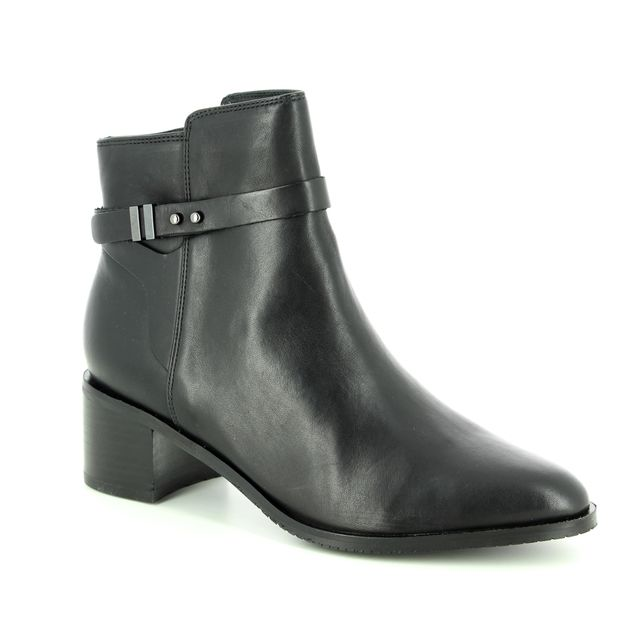 Clarks Ankle Boots - Black leather - 3600/64D POISE FREYA
