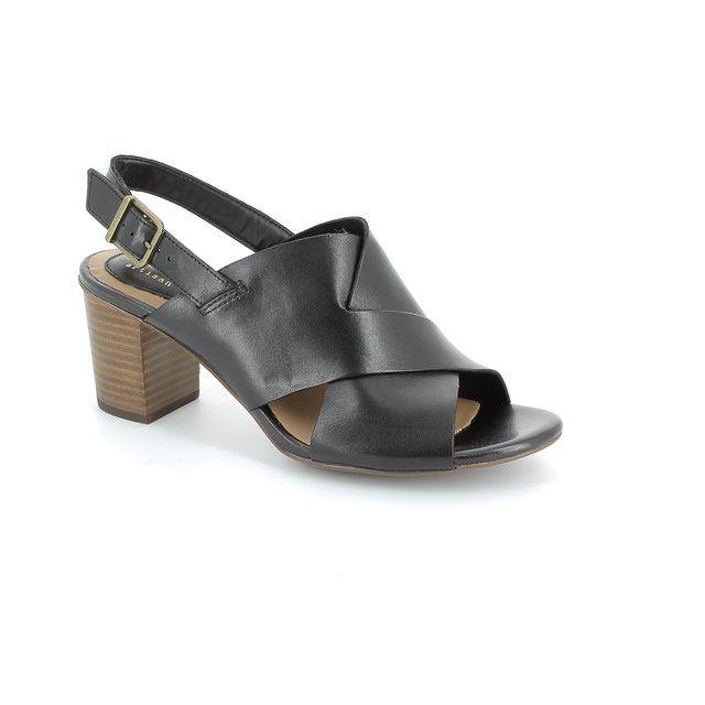 Clarks Ralene Vive D Fit Black sandals