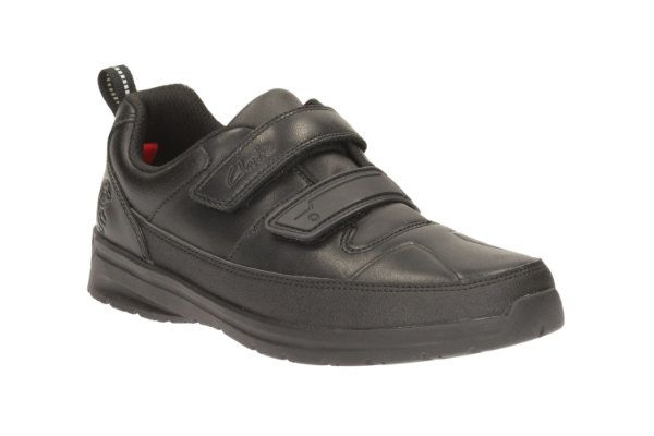 Clarks School Shoes - Black - 1892/78H REFLECTACE INF